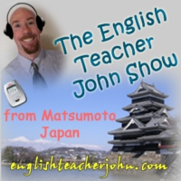Logo du podcast English Teacher John Show