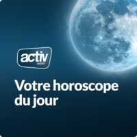 Logo of the podcast L'horoscope du jour avec ACTIV RADIO
