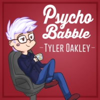 Logo of the podcast Psychobabble with Tyler Oakley