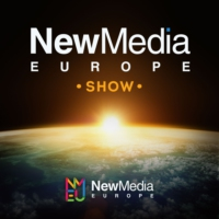 Logo of the podcast New Media Europe Show