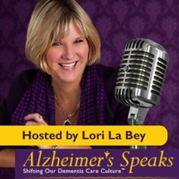 Logo of the podcast Alzheimer's Speaks