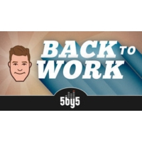Logo of the podcast 5by5 - Back to Work