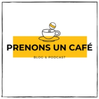 Logo of the podcast Prenons un café #19 - Margaux & Julien - Devenir parents à Londres