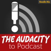 Logo of the podcast The Audacity to Podcast - how to launch and improve your podcast