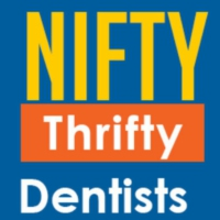 Logo of the podcast Nifty Thrifty Dentists Podcast