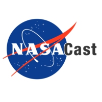Logo of the podcast NASA in Hollywood