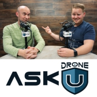Logo of the podcast ADU 0682:  Is DJI's AeroScope a good thing for the drone community?