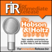 Logo of the podcast The Hobson & Holtz Report #813: Periscope in PR, News, and Politics