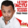 Logo of the podcast Krystoff Fluder - Le top de l'actu sur Rire & Chansons