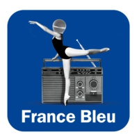 Logo of the podcast L'invité du soir France Bleu Béarn