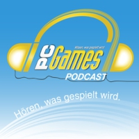 Logo of the podcast PC Games-Podcast