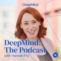 Logo du podcast DeepMind: The Podcast