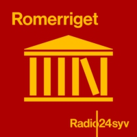 Logo du podcast RomerRiget om kollaboration