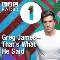 Logo of the podcast Greg James – That's What He Said