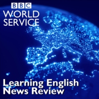 Logo of the podcast Learning English News Review