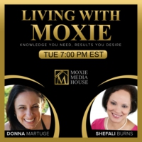 Logo du podcast Living with Moxie Launches on OMTimes Radio