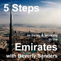 Logo du podcast EP01 5 Steps to living and working in the Emirates