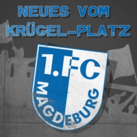 "Logo of the podcast Lutz Trümper: ""Ich bin Fan vom 1. FCM"""