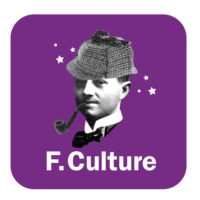 Logo of the podcast France Culture - Polar et SF