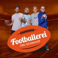 Logo of the podcast Footballerei – Frei Schnauze
