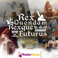 Logo of the podcast Crossover with Arthurian Mythia (Rex Quondam Rexque Futurus #HS6)
