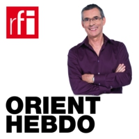 Logo of the podcast Orient hebdo - Iran Photo (inside and outside)