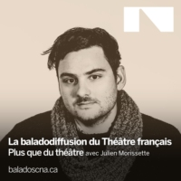 Logo of the podcast Baladodiffusion du Théâtre français du CNA