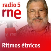 Logo of the podcast Ritmos étnicos -  Marion Cousin et Gaspar Claus - 18/12/16
