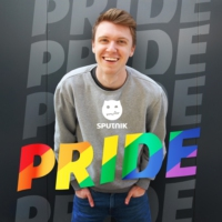 Logo of the podcast SPUTNIK Pride