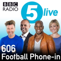 Logo of the podcast 606 with Kelly Cates and Ian Wright
