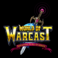 "Logo of the podcast Episode 146, ""Azeroth gang signs"""