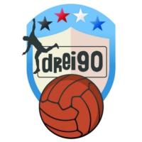 Logo of the podcast drei90