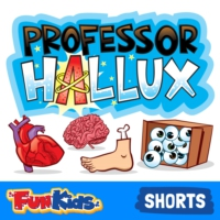 Logo of the podcast Professor Hallux: The Human Body Podcast for Kids