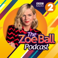Logo of the podcast Glastonbury, Kylie Minogue, Emily Eavis, Basil Brush, Sheryl Crow, Gloria Estefan and Jon Culshaw.