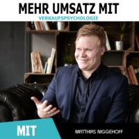 Logo of the podcast Mehr Umsatz mit Verkaufspsychologie - Online und Offline überzeugen
