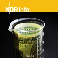 Logo of the podcast NDR Info: Fake Science - Wissenschaft auf Abwegen