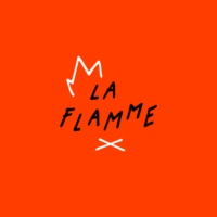 Logo of the podcast La Flamme Podcast