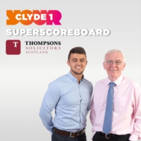 Logo of the podcast Thursday 14th May Clyde 1 Superscoreboard