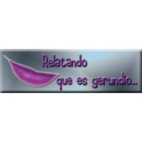 Logo of the podcast 01- Relatando que es gerundio