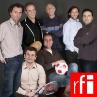 Logo of the podcast RFI - Journal des sports