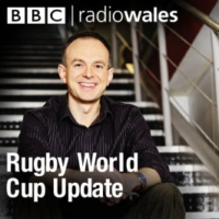 Logo of the podcast SCRUM V IN 5: RWC ROUND-UP, WEDNESDAY