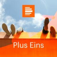 Logo of the podcast Plus Eins - Deutschlandfunk Kultur