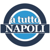 Logo of the podcast A Tutto Napoli, in studio Raimondo De Magistris e Marco Frattino, ospiti Antonio Gaito, Giandomenic…
