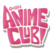 Logo of the podcast IGN Anime Club