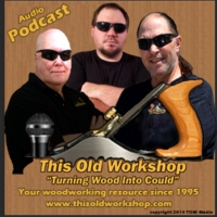 Logo of the podcast This Old Workshop discussions on woodworking