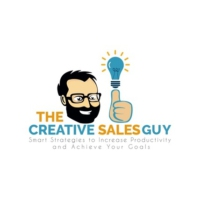 Logo of the podcast The Creative Sales Guy Podcast