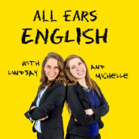 Logo of the podcast All Ears English Podcast