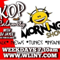 Logo of the podcast KOP AND CALAMITY MORNING SHOW 060716