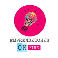 Logo of the podcast Emprendedores on fire