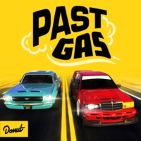 Logo of the podcast Past Gas by Donut Media